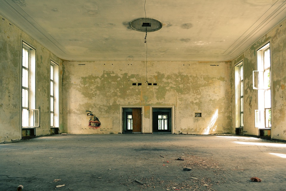 Lost Places, Abandoned, Room, Old, Empty, Interiors