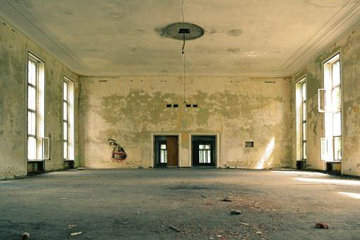 Room, Old, Empty, Abandoned, Interior