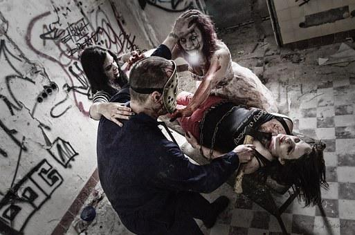 Zombie Murder Manslaughter Horror Undead M