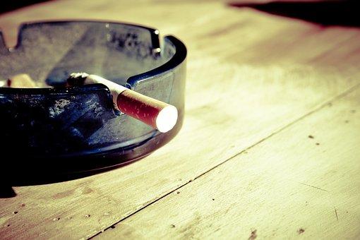 タバコ, 禁煙, 煙, 灰, たばこの吸い殻, ニコチン, たばこ, 不健康
