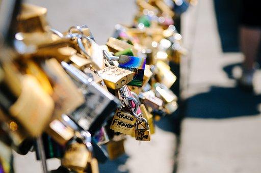 Love, Padlocks, Locks, Love Locks