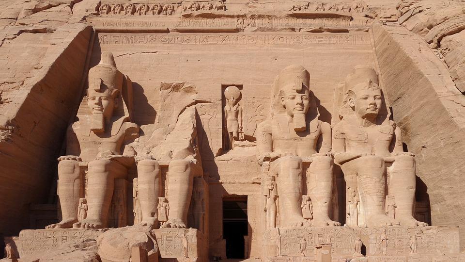 Abu Simbel, Felsentempel, Massive, Hathor, Unesco