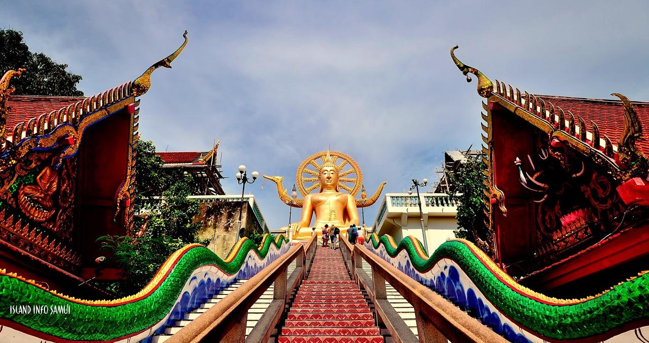 Koh Samui Temple Buddha