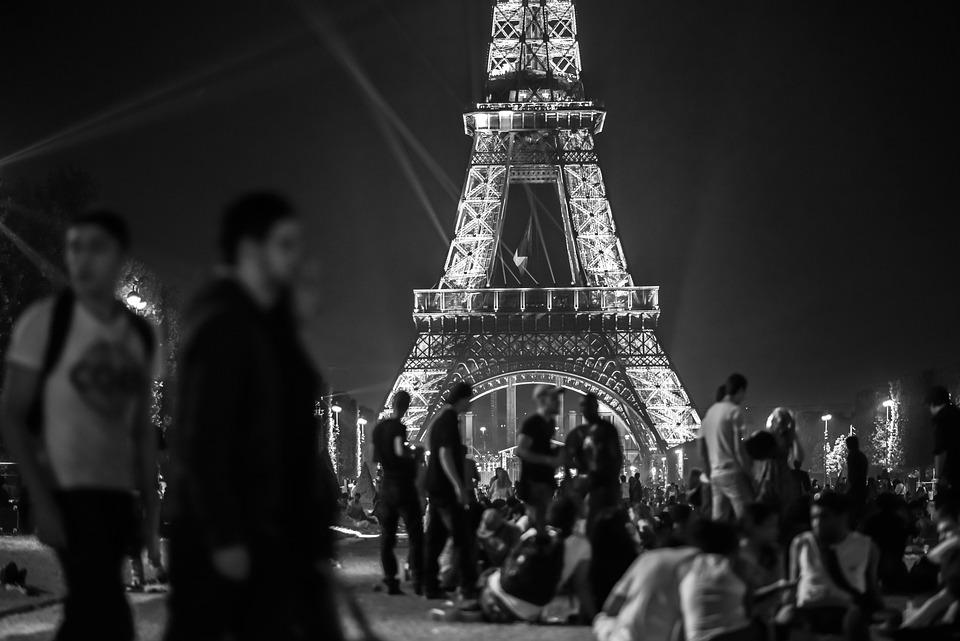 Eiffel, Tour, Paris, France, Point De Repère, Voyage