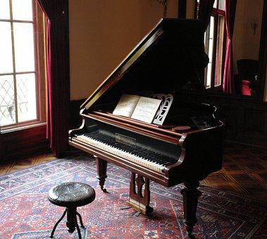 Piano, Musique, Classique, Vintage, Son