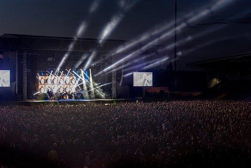 Concert Stage Event Live Light Show Entert