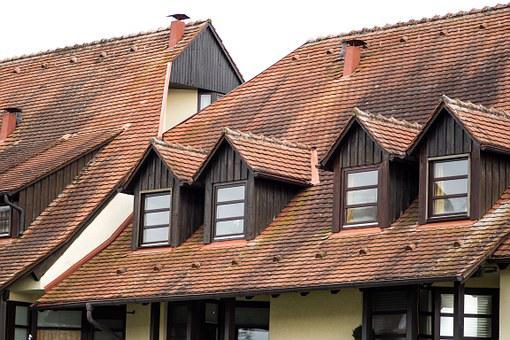 Roof, Roof Gaupe, Truss, Fachwerkhaus