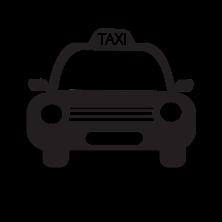 Taxi Icon, Auto, Automobile, Banner, Bar, Business