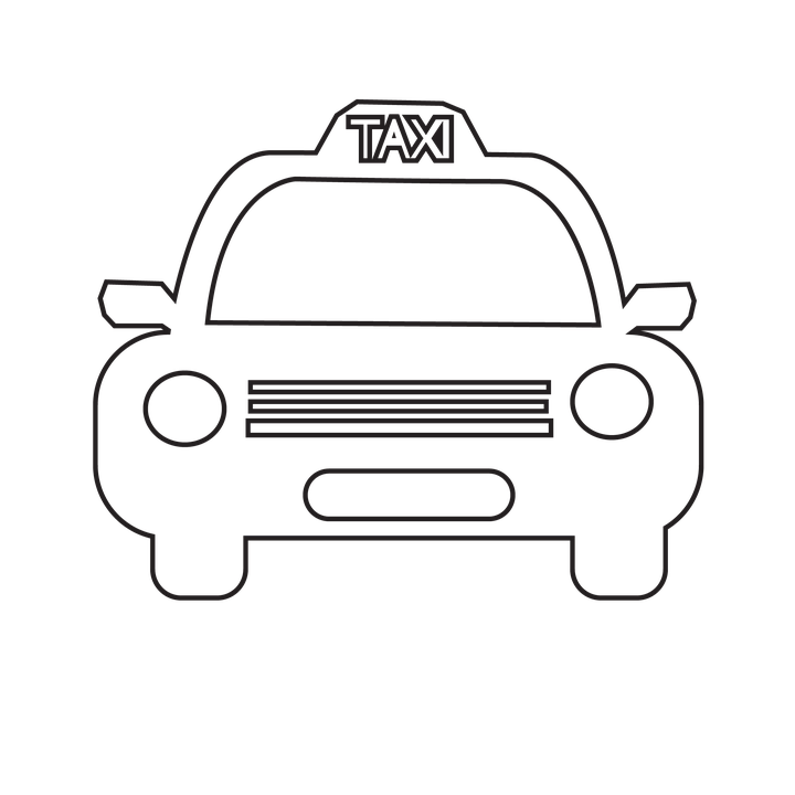Taxi Icon Auto Automobile Banner 602138 on crown number 4