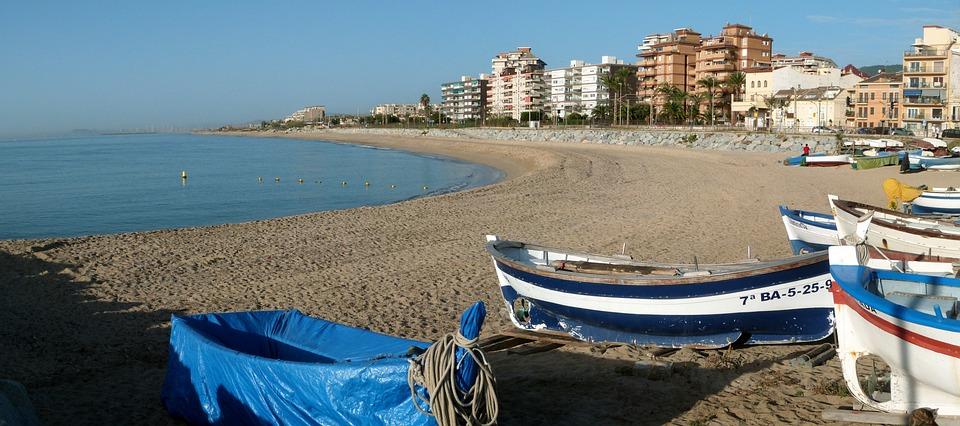 Playa, Ponent, Vilassar De Mar, Panorámica