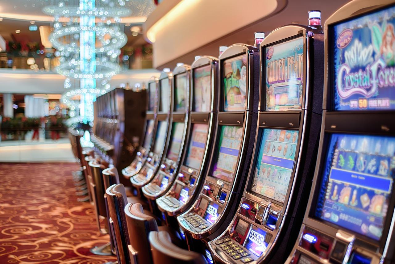 Gokautomaten in een casino