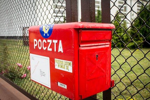 電子メール, メールボックス, ポーランドの郵便局, 手紙