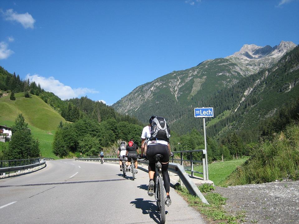 Cycling, Bike, Transalp, Sport, Lech, Switzerland