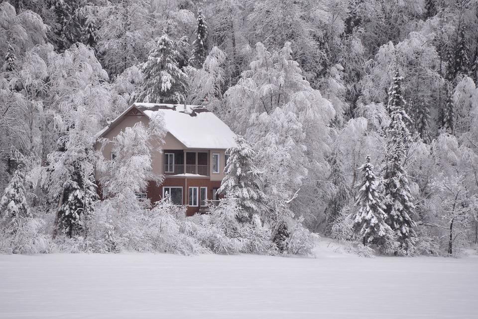 Paysage d 39 hiver neige lac gel photo gratuite sur pixabay - Photos de neige gratuites ...