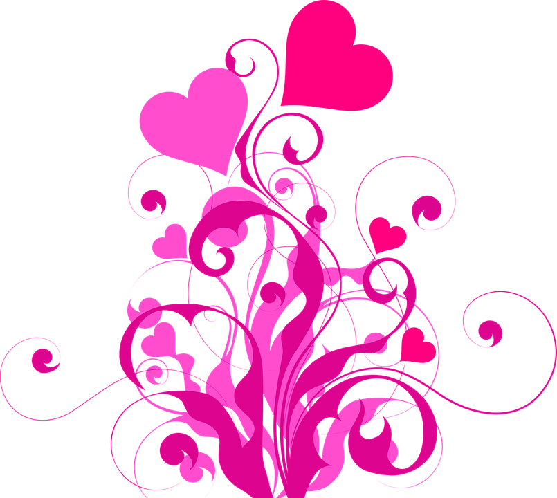 Free vector graphic: Heart, Love, Pink, Red, Luck - Free