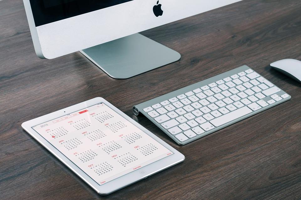 Imac, Ipad, Equipo, Comprimido, Móviles, Monitor, Apple