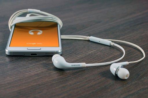 モバイル, 電話, サムスン, 音楽, 技術, 通信, デジタル, セル
