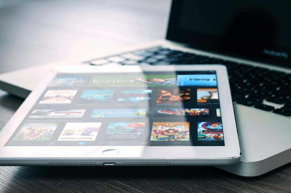 Macbook, Ipad, Oficina, Equipo, Comprimido, Apple
