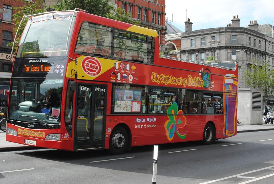 Hop-On Hop-Off Tour Bus, London