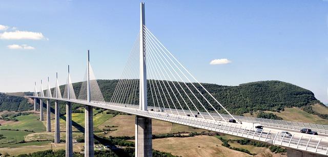 Millau Bridge France 183 Free Photo On Pixabay