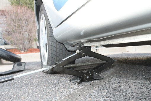 Tire, Flat, Fix, Spare, Car, Maintenance