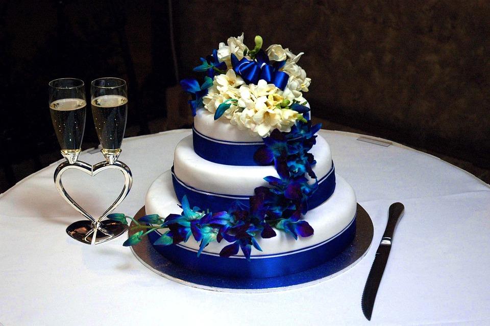 Hochzeitstorte Kuchen Liebe Kostenloses Foto Auf Pixabay