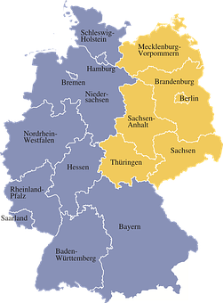 map germany regions germany map germany ge
