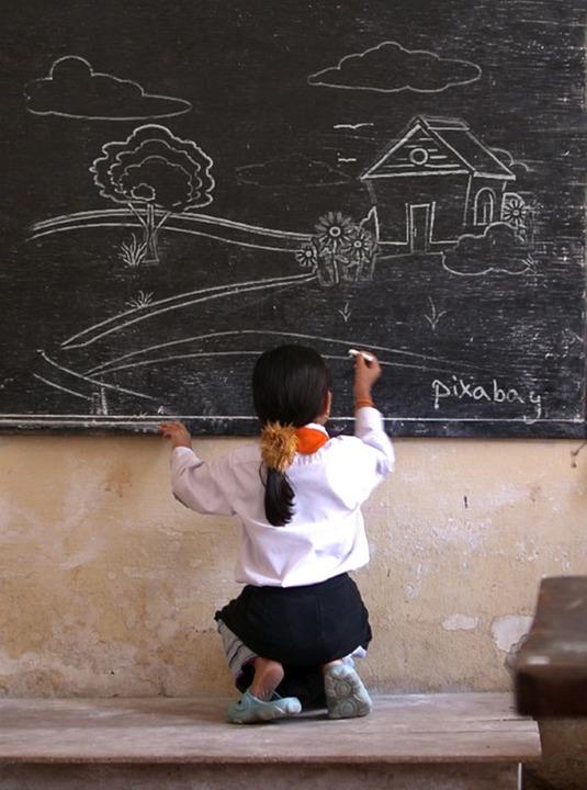Blackboard Innovative Classroom : Free photo blackboard chalkboard chalk image on
