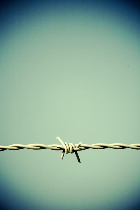 Stacheldraht Zaun Grenze · Kostenloses Foto auf Pixabay