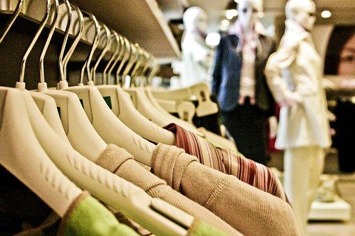 ショッピング, 衣料品, 服, 不織布, ファブリック, シャツ, 高価です