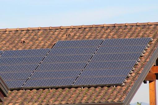 Panneaux, Photovoltaïque, Solaire