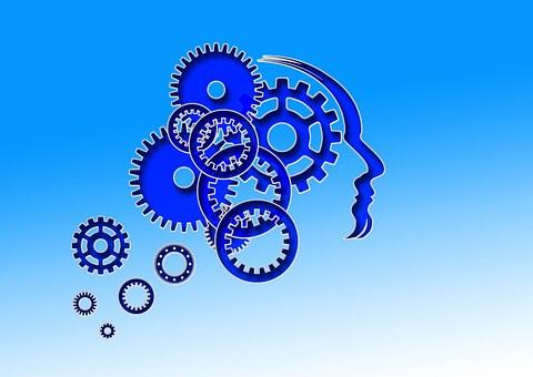 Cabeça, Cérebro, Homem, Face, Humano