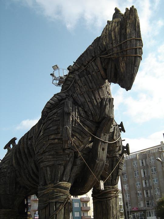 Trojan Horse, Troy, Trojan, Horse, Turkey, Ancient