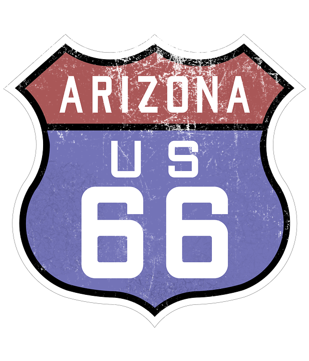 Route 66 Sign Highway Free Image On Pixabay