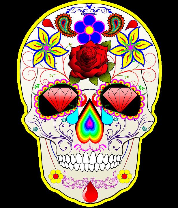 mexican sugar skull free image on pixabay