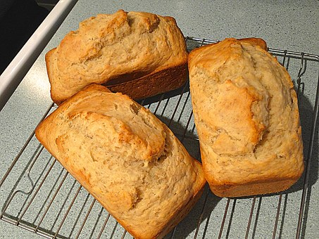 Bread Loaves Homemade Fresh Individual Sma