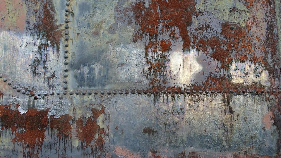 Free photo rust steel texture iron vintage free for Peindre du fer rouille