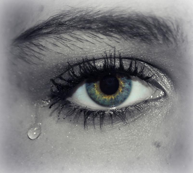 Favorito Foto gratis: Occhio, Lacrima, Piangere - Immagine gratis su  TC09