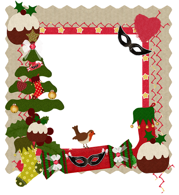 free illustration christmas frame heart card free. Black Bedroom Furniture Sets. Home Design Ideas