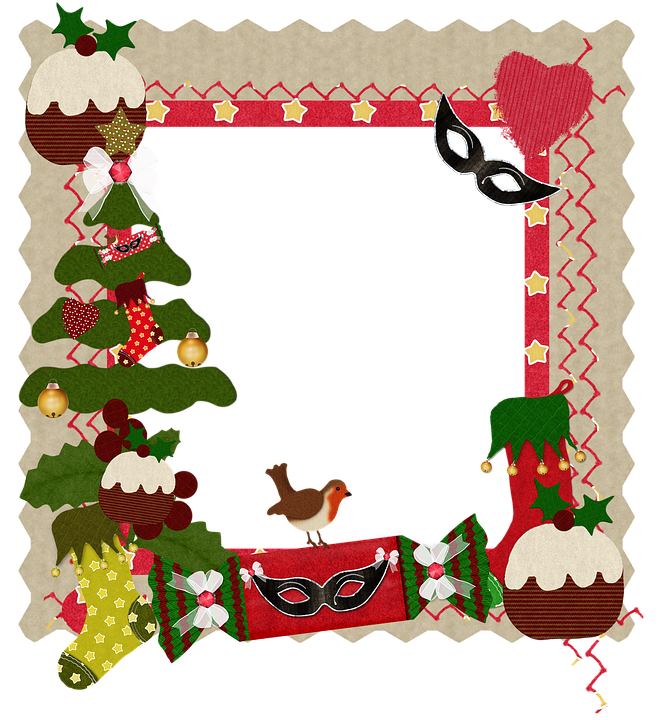 Christmas Frame Heart · Free image on Pixabay
