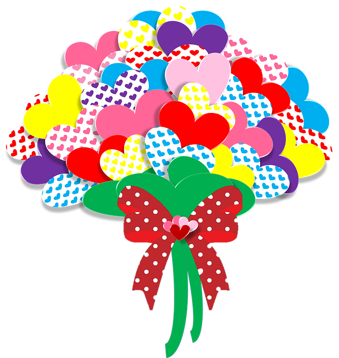free illustration valentine, heart, love, flowers  free image on, Beautiful flower