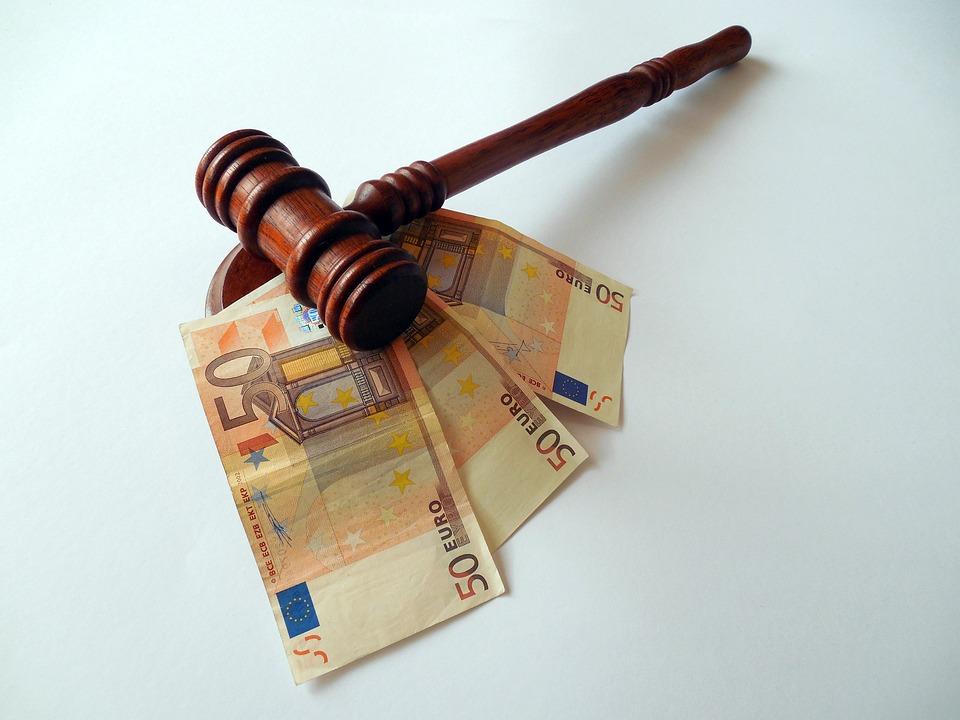 Búa, Tiền, Đồng Euro, Tiền Tệ, Hóa Đơn, Tiền Giấy