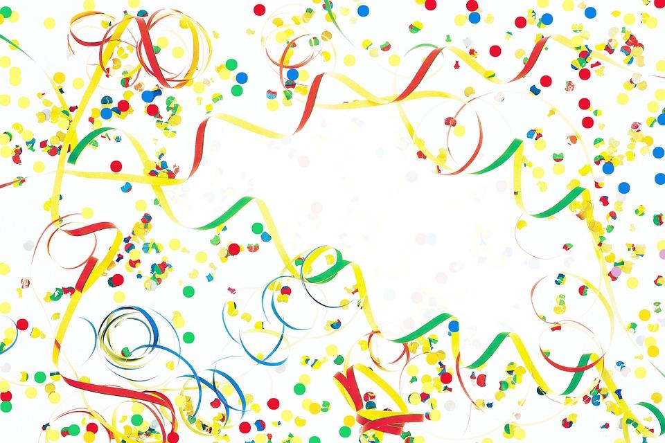 Luftschlangen Konfetti Dekoration Kostenloses Bild Auf Pixabay
