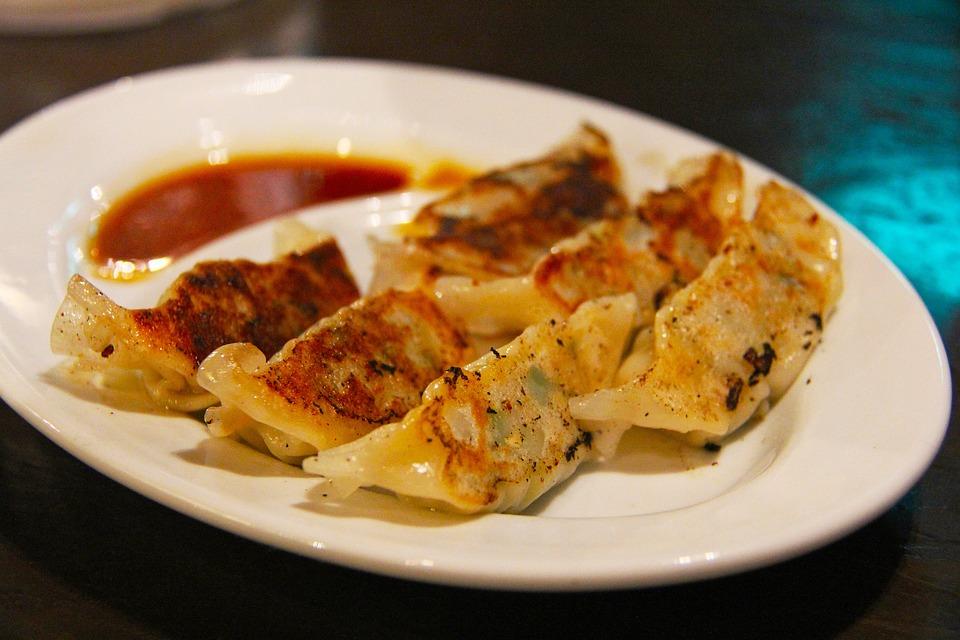 Fried, Japan Dumpling, Meat, Rice, Flour, Popular