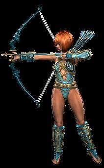 Amazone Frau Kriegerin Heldin Fantasie Sch