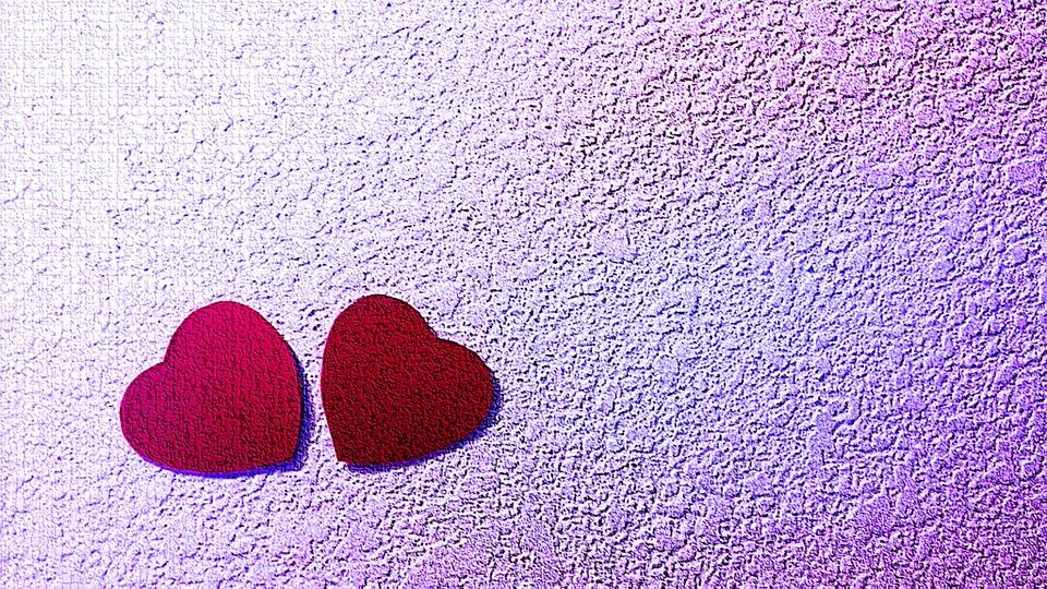 purple love valentine day - photo #17
