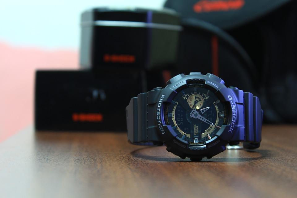 G-Shock Watch, Comeback, Wristwatch, Automatic Watch, Analogue Watch