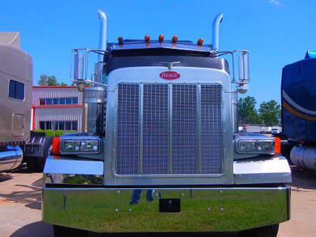 Eighteen Wheeler, Truck, Big, Commercial
