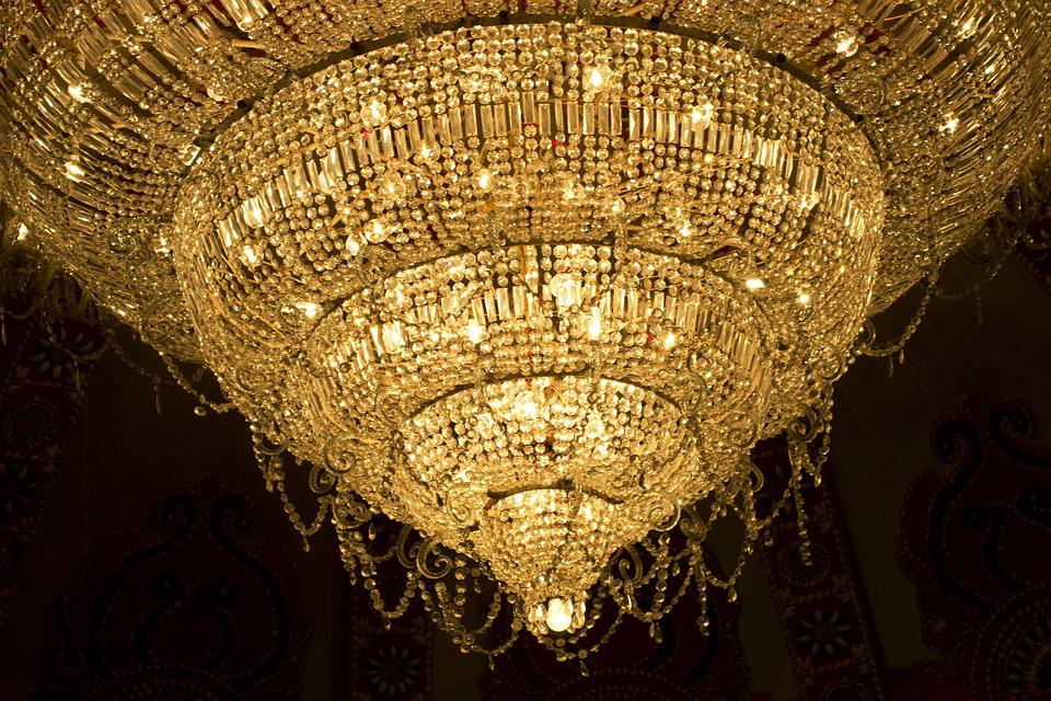 Free photo Chandelier Crystal Light Decor Free Image on – Crystal Lights Chandelier