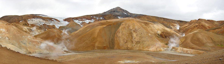 Islande, Désert, Soufrière, Volcanisme